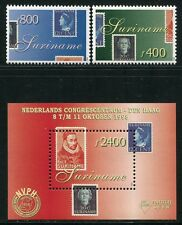 SURINAM 1998 NVPH Philatelie Briefmarken 1661-1662 + Block 74 ** MNH