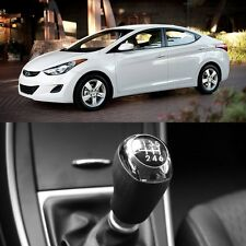 Manual 6Speed Leather Gear Shift Knob Genuine OEM For Hyundai Accent 2011-2016