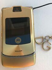Motorola Razr V3i - Dolce & Gabbana Limited Edition W/Strap  (Unlocked) GSM
