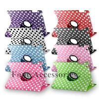 360 Degree Rotating Stand PU Leather Case & Stylus For Apple iPad 3 iPad 4