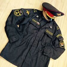 Vintage Soviet Russian army police KGB  uniforms  (jacket +  hat + pants)