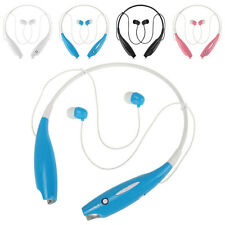 Bluetooth Wireless Headsets Earphone stereo headset Headphone for iphone 7  Blue