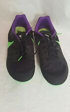 Nike Zoom Rival M Multi Use Track Spikes Sprint Black Lime 806555 035 Size 12