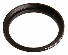 M39 to M42-mount lens converter adapter ring 39mm-42mm 39-42 mm 39x0.75-42x1