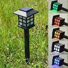 Newly Solar Power LED Yard Lawn Light Path Outdoor Spotlight Garden Walkway Lamp