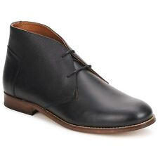 H by Hudson Viking Chukka boots in Black Leather UK Size 11