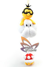 "Super Mario Bros 14"" Jyugemu Lakitu Spiny Plush-MX991"