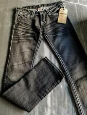 TRUE RELIGION SIZE 25 x 34 SLIM JEANS STYLE W242127EN MADE IN USA NEW