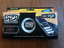 competition pro black Leather Sony PSP Carry Case & Game pouch  bnib