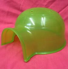 Hamster House Plastic Igloo 7.5 X 6.5 Inches GREEN Dwarf Hamster Gerbil Sm Rats