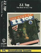 ZZ TOP THE BEST OF ZZ TOP CASSETTE 1977 compilation WB456598 BLUES ROCK SOUTHERN