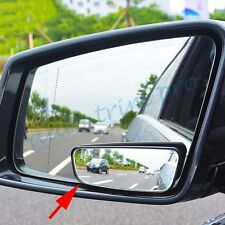 Auto Accessories Universal Clear Auxiliary Rear View Blind Side Spot Mirror