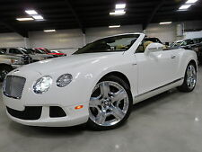 2013 Bentley Continental GT GTC Convertible 2-Door