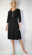 Wearhouse Essential  Kleid Gr XL Schwarz Elegant Pailletten Neu