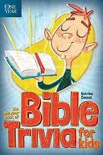 The One Year Book of Bible Trivia for Kids (2013, Paperback)