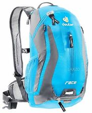 Deuter Race Rucksack Turquoise Bike Cycling Backpack lightweight + Rain cover