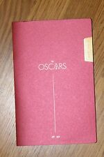 Genuine 89th ACADEMY AWARDS PROGRAM 2017 Oscars Affleck MOONLIGHT LA LA LAND NEW