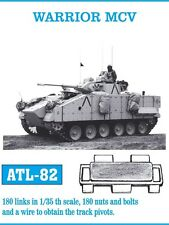FRIUL ATL-82 1/35 WARRIOR MCV, 180 Glieder, 180 Nieten und Bolzen