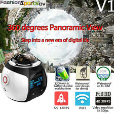 Linux WiFi  360° Panoramic Camera Sport DV Action Driving VR Camcorder