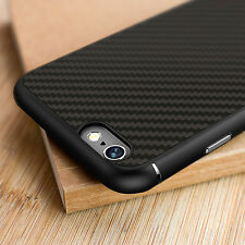 Nillkin Unique Style Synthetic Carbon Fiber Hard Soft Cover Case For iPhone 6 6S