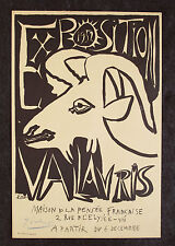 PICASSO SIGNED Mourlot Lithograph Exposition Vallauris GOAT 1952