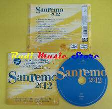 CD SANREMO 2012 compilation RENGA EMMA ZILLI FINARDI CASILLO no lp mc dvd (C15)