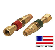 Western Torch to Hose Quick Connect/Connector Disconnect Set, QDB10