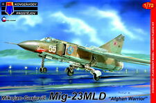 Kovozavody Prostejov 1/72 Model Kit 7270 Mikoyan MiG-23MLD Flogger Afgan Warrior