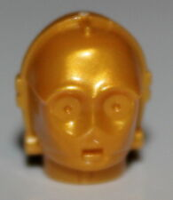 LeGo Star Wars C-3pO Pearl Gold Minifig Head K-3PO Protocol Droid  NEW