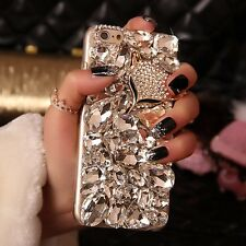 3D Bling Fox Crystal hard Case cover for Samsung Galaxy S7 Edge SE322