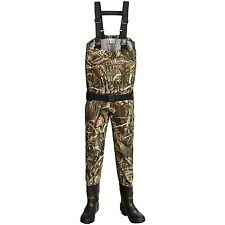 Allen Co Blue Bill Breathable Camo Hunting Chest Waders Insulated Boot - Size 8