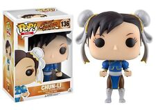 Funko POP! Games ~ CHUN-LI POP! VINYL FIGURE #136 ~ Street Fighter II