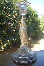 ancien bougeoir à la vierge Marie en verre manufacture de Portieux 1914