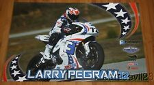 2014 Larry Pegram Foremost Insurance EBR 1190RS Superbike AMA poster