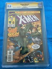 Uncanny X-Men #347 - Marvel - CGC SS 9.6 NM+ - Signed by Joe Madureira