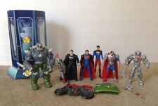 Man of Steel Superman Doomsday DC comics custom action figure set