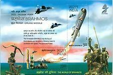 INDIA 2008 BRAMOS MINIATURE SHEET MNH CATALOG VALUE Rs 90/-