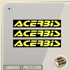 PEGATINA ACERBIS MOTOCROSS OFF ROAD ENDURO QUAD  VINYL STICKER DECAL ADESIVI