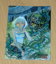 2016 Braiiinz HORROR meets GIRL sketch card 1/1 MIZUMEL