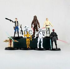 8pcs/lot Star Wars Action Figure Sets PVC Kids Toys For Boys 5-11CM Movie & TV