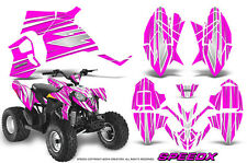 POLARIS OUTLAW 90 GRAPHICS KIT CREATORX DECALS STICKERS SPEEDX WP