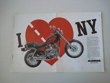 advertising Pubblicità 1988 MOTO MORINI NEWYORK NEW YORK
