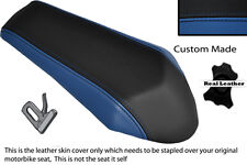 R BLUE & BLACK CUSTOM FITS DERBI GPR 50 125 UNDERSEAT EXHAUST 07-13  REAR COVER