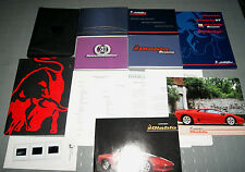 OEM - Lamborghini Diablo Owners Manual - Ultra Rare SET!! (w/Press Release Kit)