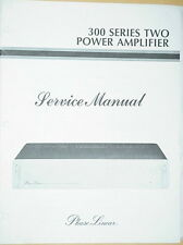 PHASE LINEAR PL 300 Series II AMPLIFIER SERVICE MANUAL 24 Pages
