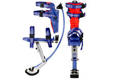 Kids/Child Youth Kangaroo Shoes Jumping Stilts Fitness Exercise (88-132lbs) Blue