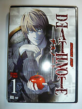 Death Note Volume 1 DVD cult classic anime TV series UNCUT Shonen Jump