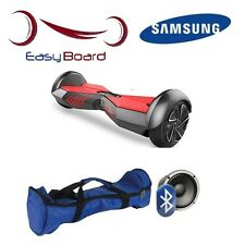 Hoverboard 6.5 Pollici NEW2016 Batteria SAMSUNG-Bluetooth-LED-Borsa da trasporto