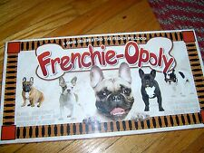NEW FACTORY SEALED - FRENCHIE-OPOLY - A FRENCH BULLDOG THEMED MONOPOLY GAME