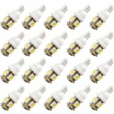 20x T10 5050 5SMD White LED Car Light Lamp Bulb Super Bright DC12V Tail light B
